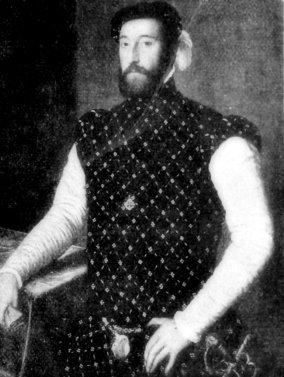 Posible retrato de Garcilaso de la Vega.